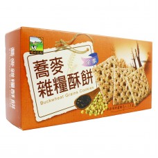 Buckwheat Grains Cracker 荞麦杂粮酥饼